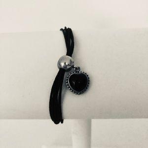 Authentic Pandora Bracelet with Heart Charm